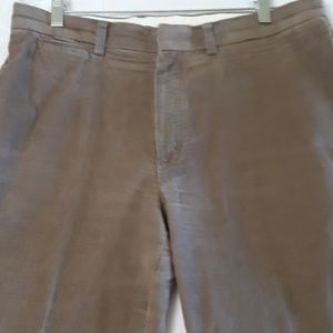 LL BEAN BROWN CORDUROY SZ 33/29 PANTS